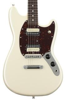 Guitarra Eléctrica Fender American Mustang Edición Especial Con Funda Hecha En Usa