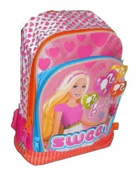Mochila Barbie Jardin Con Bolsillo Delantero Orig V. Crespo
