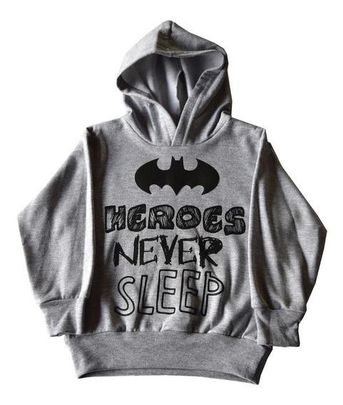 Sudadera Batman Heroes Never Sleep 27015