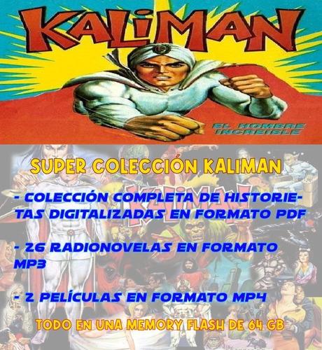 Colección Kaliman En Flash De 64gb
