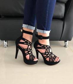 155a1e57 Sandalias Zapatos Con Tacon Alto Elegantes Ultima Moda - Zapatos ...