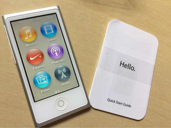 iPod Nano 7th Geração Lightning Impecável E Com Caixa
