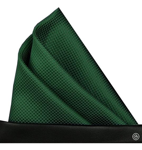 Pañuelo De Bolsillo Para Traje De Hombre Grin Accs Verde Osc