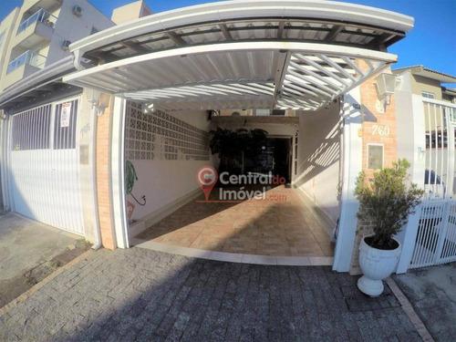 Casa Com 2 Dormitórios À Venda, 133 M² Por R$ 450.000,00 - Centro - Camboriú/sc - Ca0243