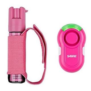 Sabre Red Gel En Spray Pimienta Rosa Para Corredores Con Ro