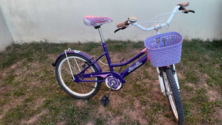 Bici Musetta Betty Blue Rodado 20