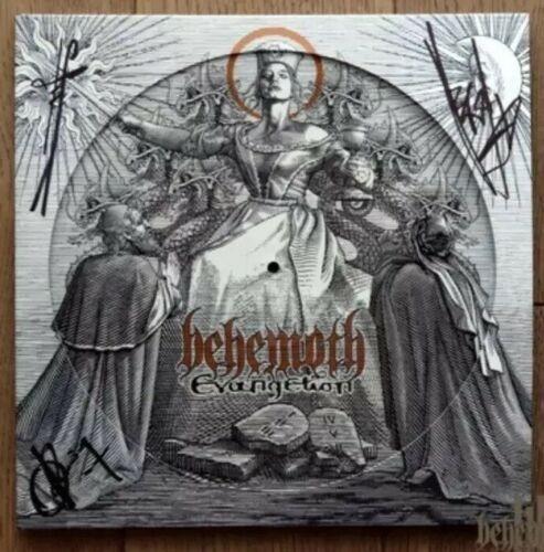 Lp Behemoth - Evangelion: Autografado - Picture Edition