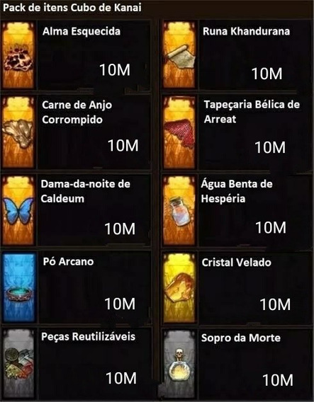 Pack Itens Ferreiro/cubo 10m - Diablo 3 Ps4