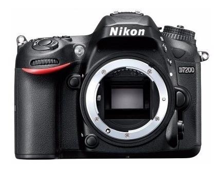 Câmera Nikon D7200 Corpo, 24.2mp Garantia 24 Meses
