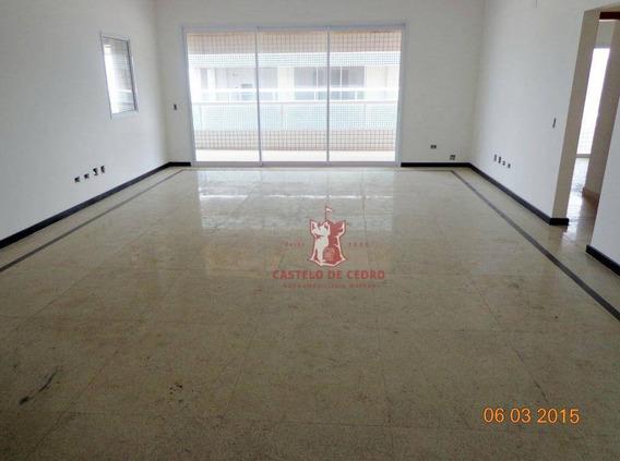 Apartamento Com 4 Dormitórios À Venda, 205 M² Por R$ 1.477.350,00 - Canto Do Forte - Praia Grande/sp - Ap0603