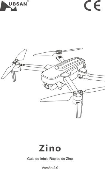 Manual Drone Hubsan Zino Em Português Guia De Inicio Rápido
