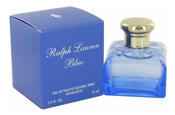 Perfume Ralph Lauren Blue Feminino Edt 75ml Original