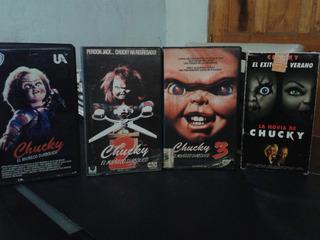 Chucky Coleccion Vhs