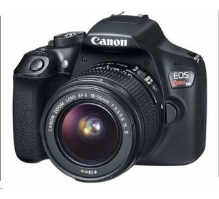 Cámara Fotográfica Digital Canon Eos Rebel T6 + Estuche