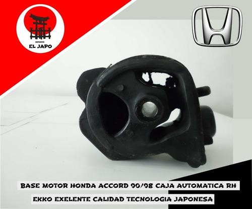 Base Motor Honda Accord 90 91 92 93 94 95 96 97 98 Caja Aut.