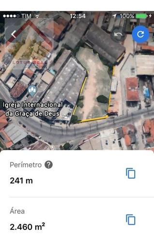 Terreno A Venda No Bairro Ponte Grande Em Guarulhos - Sp.  - 902-1