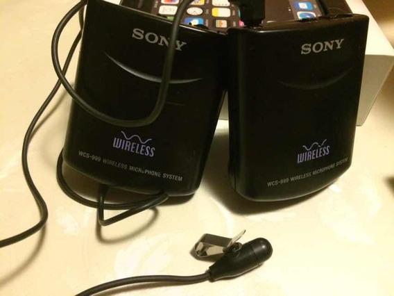 Transmissor Para Câmeras E Filmadora Wcs 999