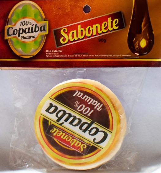 12 Sabonete Psoríase, Eczema, Coceira Copaíba,pele, Natural
