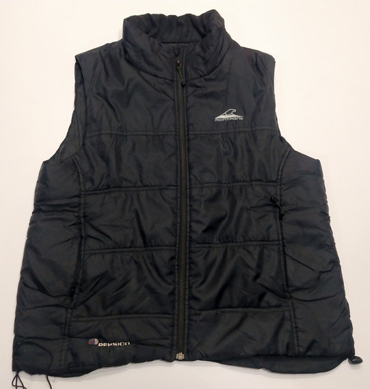 Chaleco Montagne Outdoor Talle M Negro