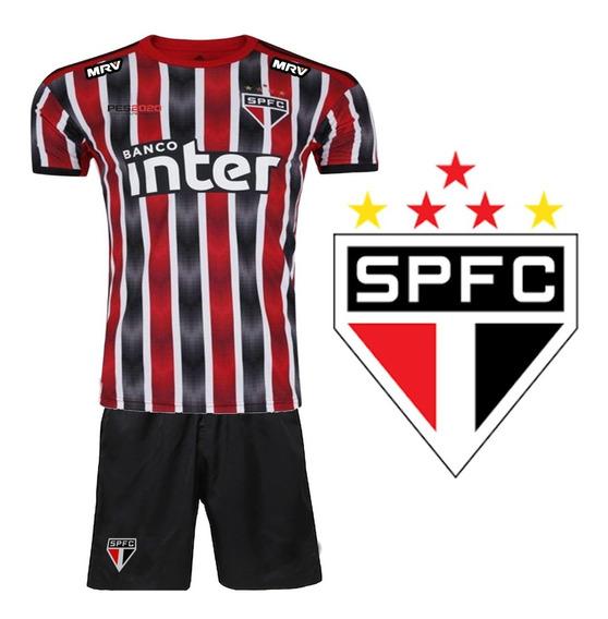 Uniforme Infantil São Paulo Listrado