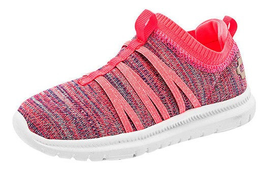 Charly Sneaker Casual Niña Coral Textil Bta58009