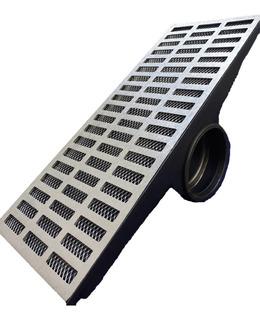 Grelha Pluvial 20x50 Com Caixa Coletora Lateral E Tela