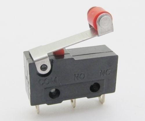 Chave Fim De Curso Micro Switch End Stop Cnc 3d Printer 12pç