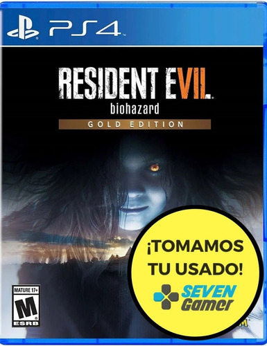 Resident Evil 7 Gold Edition Playstation 4 Ps4 Juego Sellado