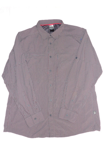The North Face Camisa M L De Caballero X L Rayas Nueva