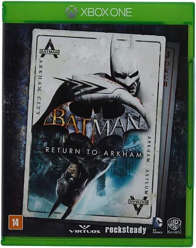 Batman Return To Arkham Xbox One Midia Fisica