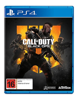 Juego Fisico Cod Call Of Duty Black Ops 4 Sony Ps4 Cuotas