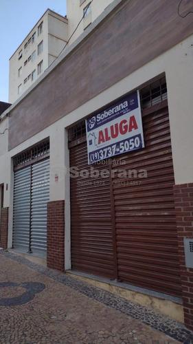 Salão Para Aluguel Em Cambuí - Sl010804