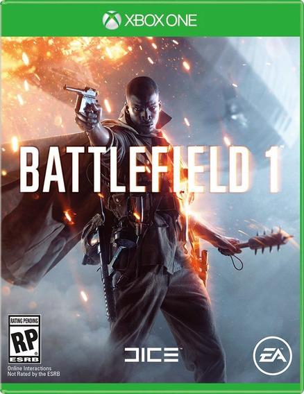 Jogo Guerra Midia Fisica Battlefield 1 Portugues Xbox One