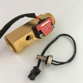 Sensor Medidor Fluxo Água Quente Termômetro 1/2 Arduino