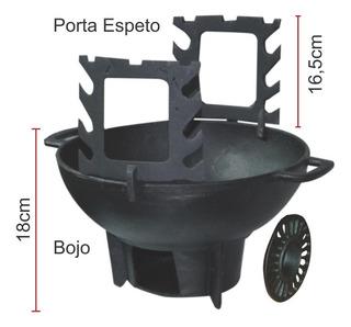 Fogareiro/churrasqueira Gengiskan Completo - Diametro 31cm