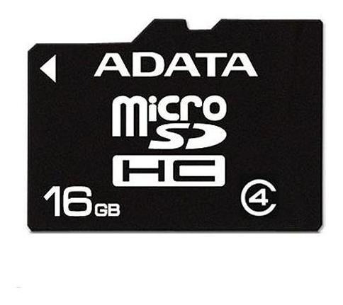 Memoria Micro Sd16gb Adata Clase4 Bulk (sueltas)