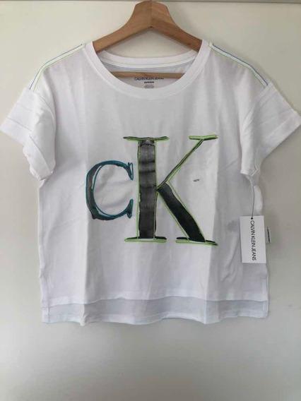 Remera Calvin Klein De Mujer