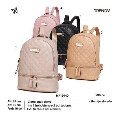 Mochila Trendy Mp19440