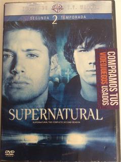 Supernatural Temporada 2 - Original Seminueva Garantizada