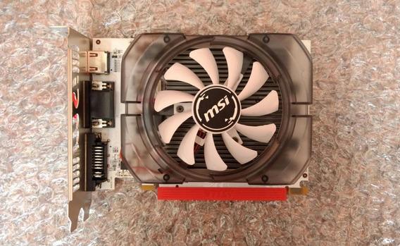 Placa De Vídeo Msi N730-2gd3v3 Geforce Gt 730 De 2gb Ddr3 Hd