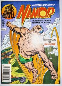 Hq - Grandes Heróis Marvel - A Estréia Do Novo Namor - Nº42