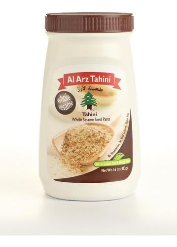 12 X 10 Al Arz Tahini Integral 453 Gr Superfood Caja De 12