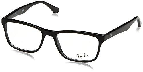 77fcf96dfc Gafas Graduadas Ray-ban Rx5279 Para Hombre, Negro Brillante ...