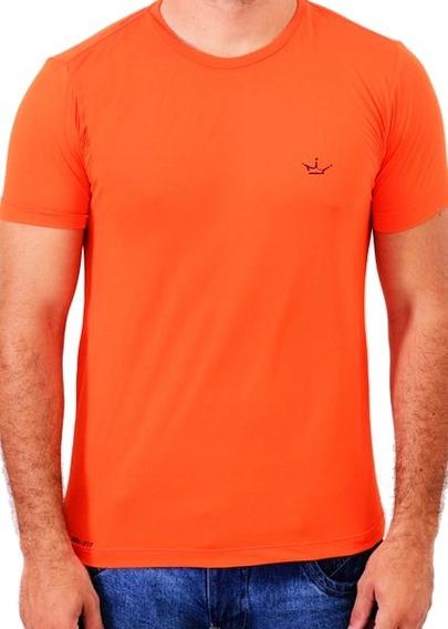 Camiseta Dri Fit 100% Poliamida Laranja