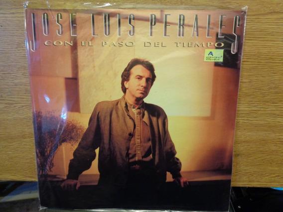 Jose Luis Perales Con El Paso Del Tiempo C/ Insert Disco G