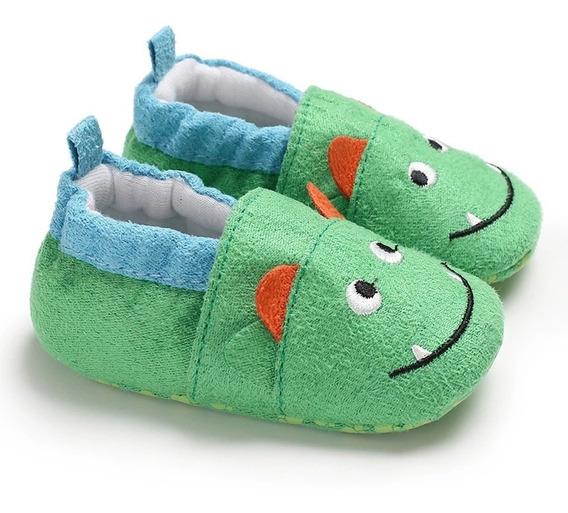Pantunflas Bebé Mounstruos Verdes