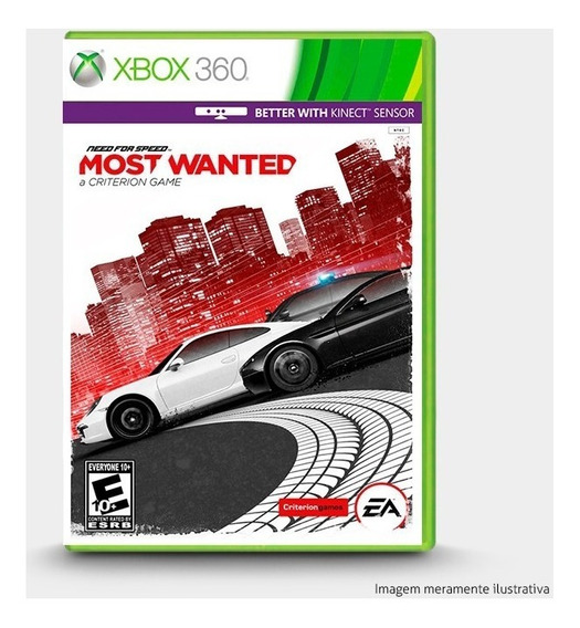 Need For Speed Most Wanted Original Xbox 360 Novo