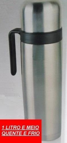 Garrafa Térmica C/ Copo Multiuso 1,5 Litros Café Chimarrão