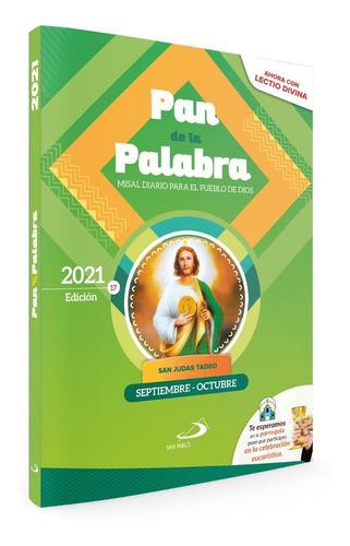 Imagen 1 de 2 de Misal Diario Pan De La Palabra - Meses: Septiembre Y Octubre