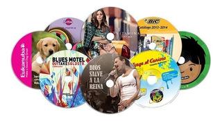 Impresion Sobre Cd, Dvd Y Blu Ray Y Duplicacion